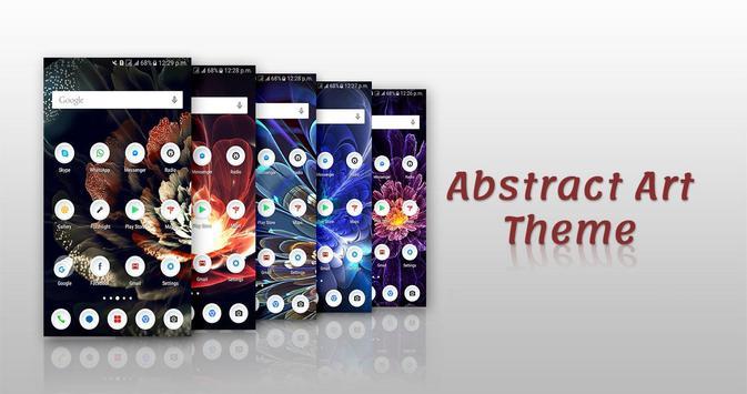 Abstract Art Theme screenshot 6