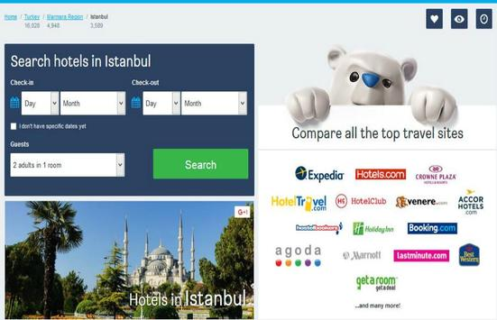 Istanbul Hotel Booking poster