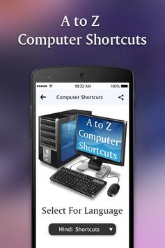 Computer Shortcut Keys poster