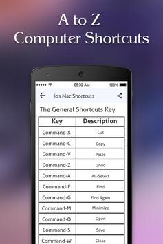 Computer Shortcut Keys screenshot 4