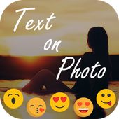 Stylish Text Over Photo icon
