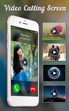 Video Calling - Incoming Video Ringtone screenshot 2