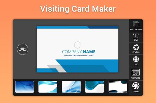 Business & Visiting Card Maker poster