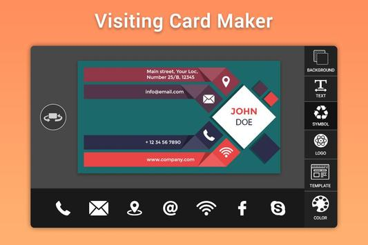 Business & Visiting Card Maker screenshot 2