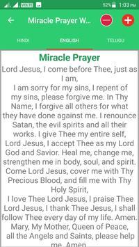 Miracle Prayer With Audio screenshot 4