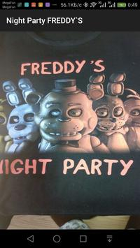 Night Party FREDDY`S screenshot 1