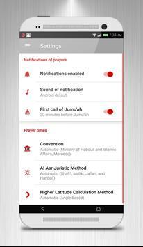 Salah Times & Qibla Ramadan apk screenshot