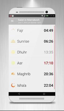 Salah Times & Qibla Ramadan poster