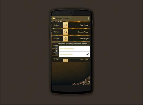 Prayer times Salaat First 2017 screenshot 5