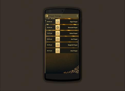 Prayer times Salaat First 2017 screenshot 1
