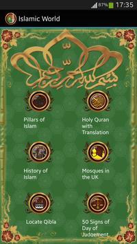 Islamic World:Quran,Qibla poster
