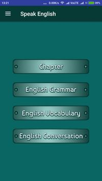 English Speaking Course poster