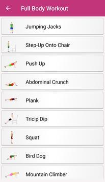 30 Days Workout Challenge apk screenshot
