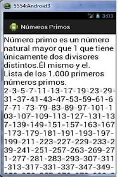Numeros Primos poster