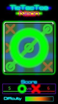 TicTacToe Neon apk screenshot