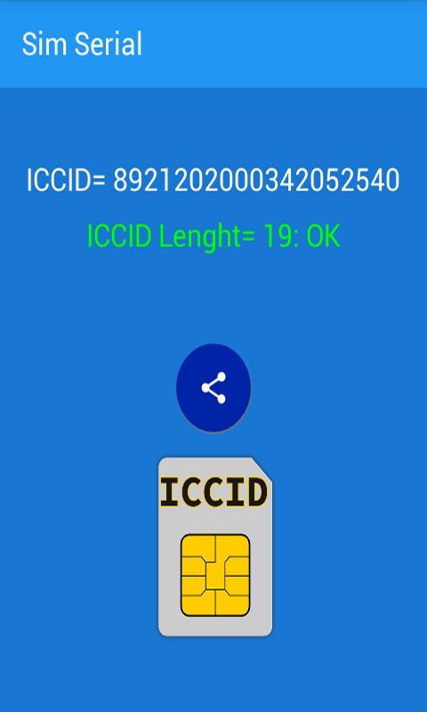 Iccid Sim Card