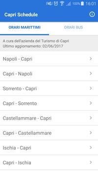Capri Schedule الملصق