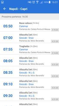 Capri Schedule تصوير الشاشة 1