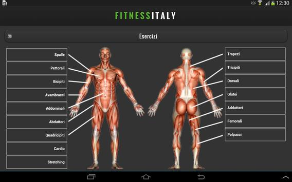 Fitnessitaly Palestre poster