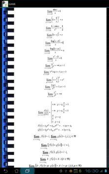 Uni Math Formulas screenshot 1