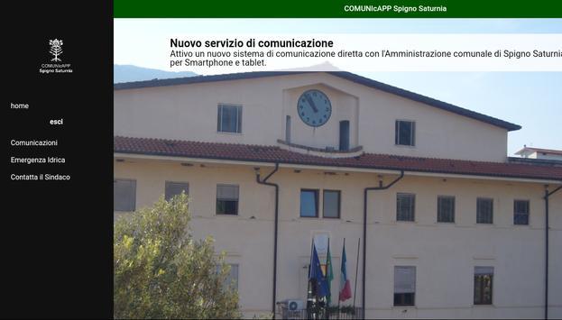 COMUNIcAPP di Spigno Saturnia screenshot 6