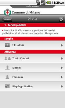 Referendum Milano screenshot 1