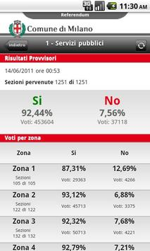 Referendum Milano screenshot 2