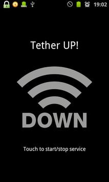 Tether UP! poster
