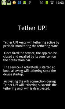 Tether UP! apk screenshot
