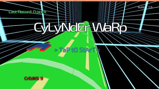 cylynder warp poster