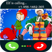 call from elf on the shelf icon
