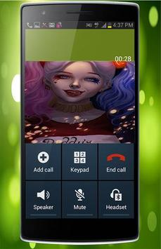 Fake Call From Suicide Squad apk screenshot