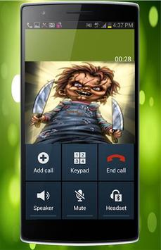 Fake Call From Chucky Killer poster