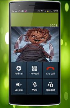 Fake Call From Chucky Killer apk screenshot