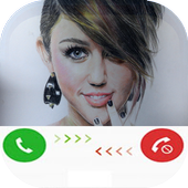 Fake Call From Miley Cyrus icon