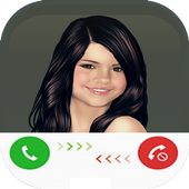 Fake Call From Selena Gomez icon