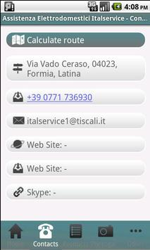 Assistenza Italservice apk screenshot
