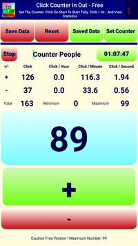 Click Tally Counter FREE poster