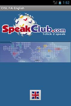 CISL-FAI Kit di viaggio (Ing) poster