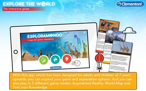 Explore the World poster