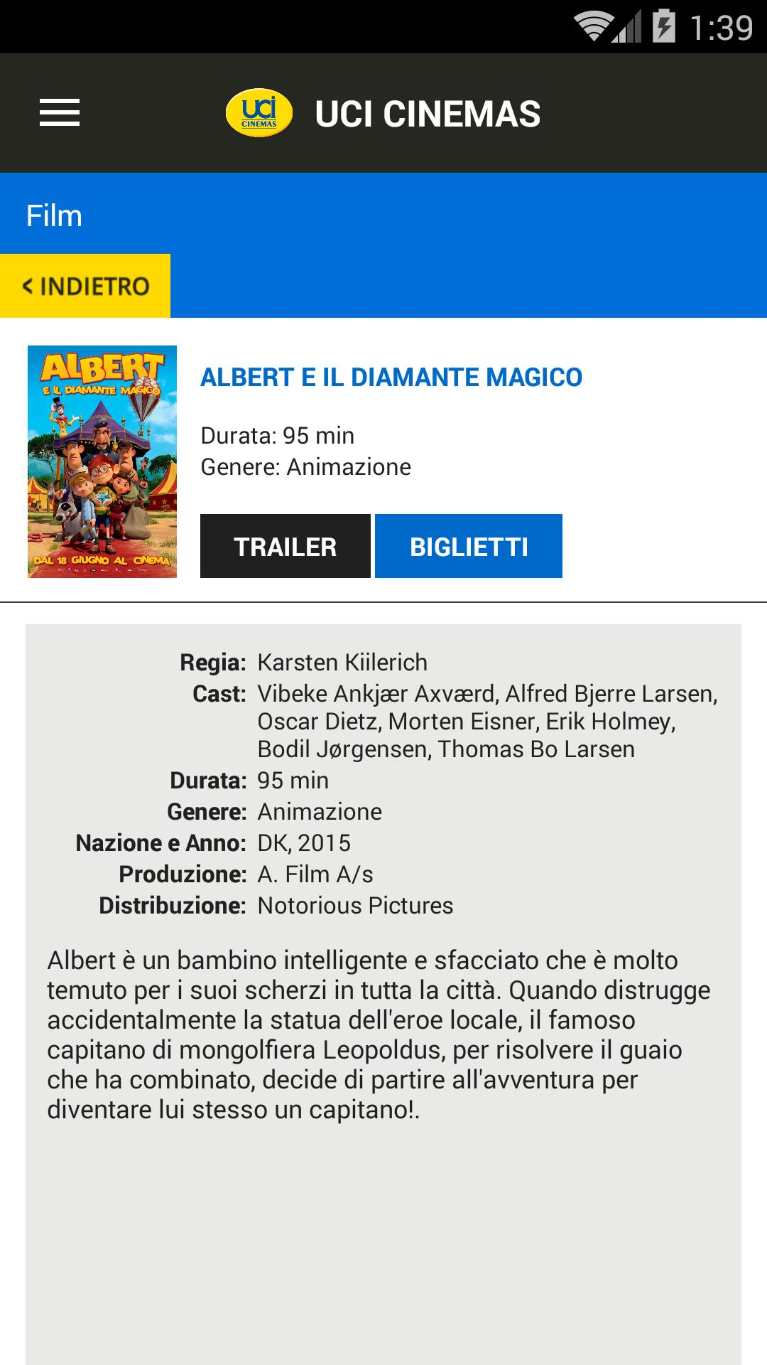 UCI CINEMAS ITALIA for Android - APK Download