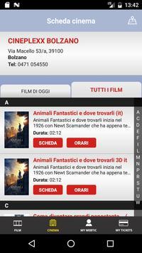 Webtic Cineplexx Bolzano screenshot 4