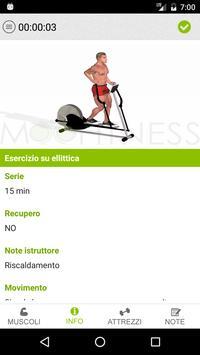 MooFitness: la scheda di allenamento sempre con te screenshot 1