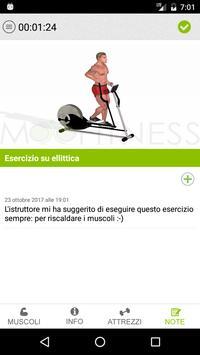 MooFitness: la scheda di allenamento sempre con te screenshot 4