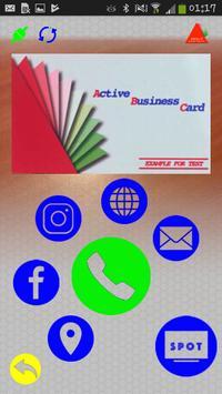 ActiveBusinessCard apk screenshot