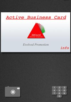ActiveBusinessCard poster