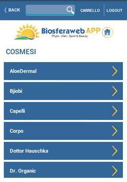 Biosferaweb apk screenshot