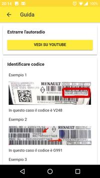 Radio Code for Renault screenshot 1