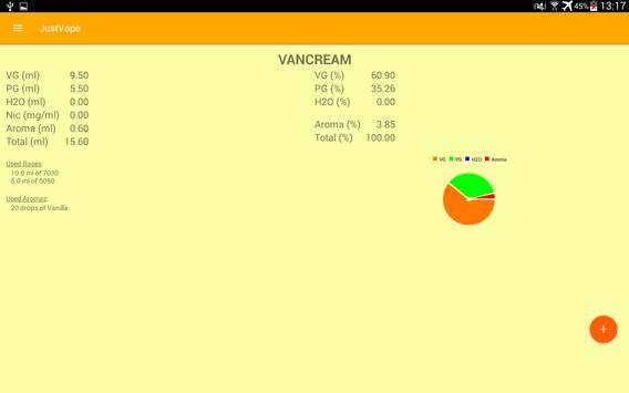 JustVape apk screenshot