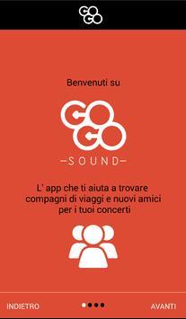Gogosound – carpooling per concerti screenshot 1